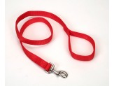 Coastal Double-Ply Nylon Leash Red 1X4ft