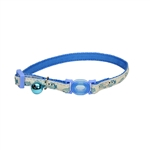 Coastal 3/8 SAFE CAT GLOW Blue Fish