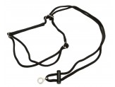 Coastal Holt Adjustable Control Harness Black Medium