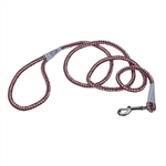 Coastal K9 Explorer 6' Rope Snap Leash  Rosebud Pink