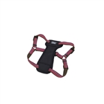 "Coastal K9 Explorer 5/8"" Padded Harness  Berry Red (12-18"")"