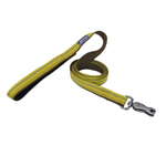 "Coastal Pet Products K9 Explorer  Reflective Leash with Scissor Snap, 1""x6' Goldenrod Yellow"