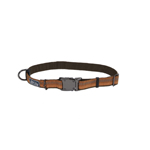 "Coastal K9 Explorer 1"" Adj Collar Camp Fire Orange (18-26"")"