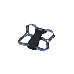 "Coastal K9 Explorer 1"" Padded Harness Sapphire Blue (20-30"")"