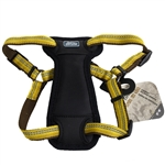 "Coastal K9 Explorer 1"" Padded Harness Goldenrod Yellow  (20-30"")"