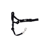 Coastal Walk 'n Train! Head Halter Black-Medium