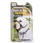 Coastal Walk 'n Train! Head Halter Black Large