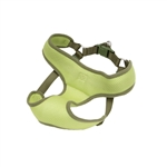"Coastal Pet-Comfort Soft Lime Wrap Adjustable Harness, 3/8""   Lime  Girth: 14""-16"""