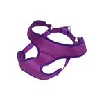 "Coastal Pet-Comfort Soft Orchid Wrap Adjustable Harness, 3/8""  Orchid  Girth: 14""-16"""