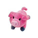 Coastal Lil Pals Plush Dog Toy-Charlotte Pig