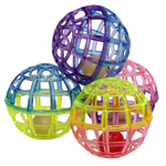 Ethical Products Spot Lattice Balls With Bell 4pk