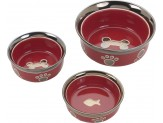 Ethical Products Spot Ritzy Copper Rim Dog Red 5in