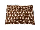 Ethical Snuggler Paws/Circle Blanket Chocolate 40X58