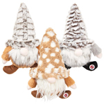 Ethical Woodsy Gnomes Dog Toy Assorted 12in