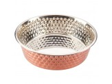 Ethical Spot Bowls Honeycomb Non Skid Stainless Steel Copper 2qt