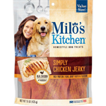 Milos Kitchen Simply Chicken Jerky Dog Treat 12.5oz