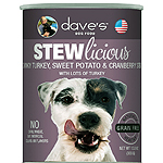 Daves Pet Food Dog Stewlicious Turkey, Sweet Potato & Cranberry Stew 13Oz (Case Of 12)