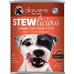 Daves Pet Food Dog Stewlicious Chunky Chicken Stew 13Oz (Case Of 12)