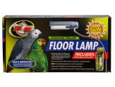 Zoo Med Aviansun Deluxe Floor Lamp With Aviansun 5.0 Uvb