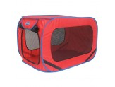 Sportpet Pop Open Kennel Assorted Red Or Green Small