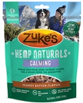 Zukes Dog Hemp Naturals Calm Grain Free Peanut Butter 5Oz