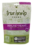 True Hemp Dog Chew Immunity Heart 7 Oz.