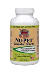 Ark Naturals Nu-Pet Granular Greens Dog & Cat Powder Supplement, 8.47-oz bottle