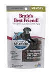 Ark Naturals Gray Muzzle Memory Health Senior Dog Treats, 3.17-oz bag, 90 count
