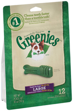 GREENIES Original Large Dog Dental Chews - 18 Ounces 12 Treats