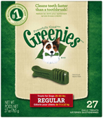 GREENIES Original Regular Size Dog Dental Chews - 27 Ounces 27 Treats