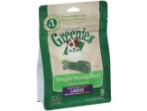 GREENIES Weight Management Large Dental Dog Chews - 12 Ounces 8 Treats