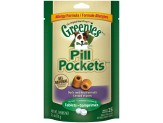 Greenies Pill Pockets Grain Free Dog Treats Duck And Pea Formula - Tablet Size 2.6 Oz. 25 Treats