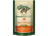 FELINE GREENIES SMARTBITES Healthy Skin and Fur Treats for Cats Chicken Flavor 2.1 oz.