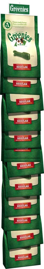 GREENIES Original Regular Size Dog Dental Chews - 6 Ounces 6 Treats