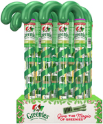 GREENIES Dental Chews TEENIE Treats for Dogs - Candy Cane Tube - 2.24 oz. 8 Treats (case of 12)
