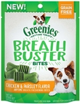Greenies Breath Buster Bites Chicken 2.5oz