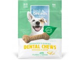 TropiClean Dental Chew Banana Dog Treat 5-25lbs Small 20ct