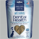 Get Naked Dog Grain-Free Dental Health Medium 6.6 oz.