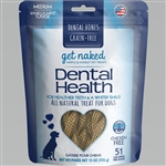 Get Naked Dog Grain-Free Dental Health Medium 15 oz.