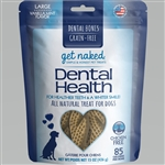 Get Naked Dog Grain-Free Dental Health Large 15 oz.