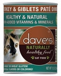 Dave Cat Naturally Healthy Turkey  22 Oz.