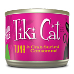 Tiki Pets Cat Grill Lanai Tuna Crab 6 Oz.(Case Of: 8)