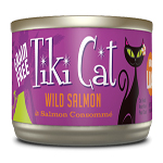 Tiki Pets Cat Luau Hanl Salmon 2.8 Oz.(Case Of: 12)