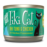 Tiki Pets Cat Luau Hkn Ahi Tuna Chicken 2.8O(Case Of: 12)