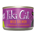 Tiki Pets Cat Luau Hanl Salmon 6 Oz.(Case Of: 8)