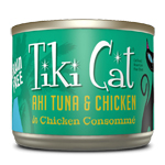 Tiki Pets Cat Luau Hkn Ahi Tuna Chicken 6 Oz.(Case Of: 8)