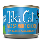 Tiki Pets Cat Luau Napl Salmon Chicken 6 Oz.(Case Of: 8)