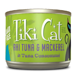 Tiki Pets Cat Luau Pp Ahi Tuna Mackerel6 Oz.(Case Of: 8)