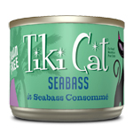 Tiki Pets Cat Luau Oahu Seabs 6 Oz.(Case Of: 8)