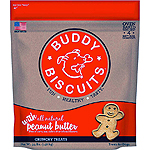 CLOUDSTAR DOG BUDDY BISCUITS PEANUT BUTTER 3.5LB